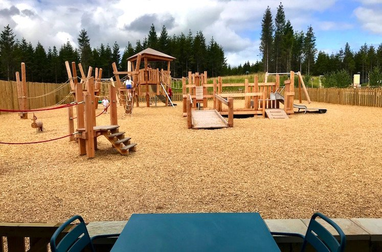 center parcs longford forest caras kitchen playground