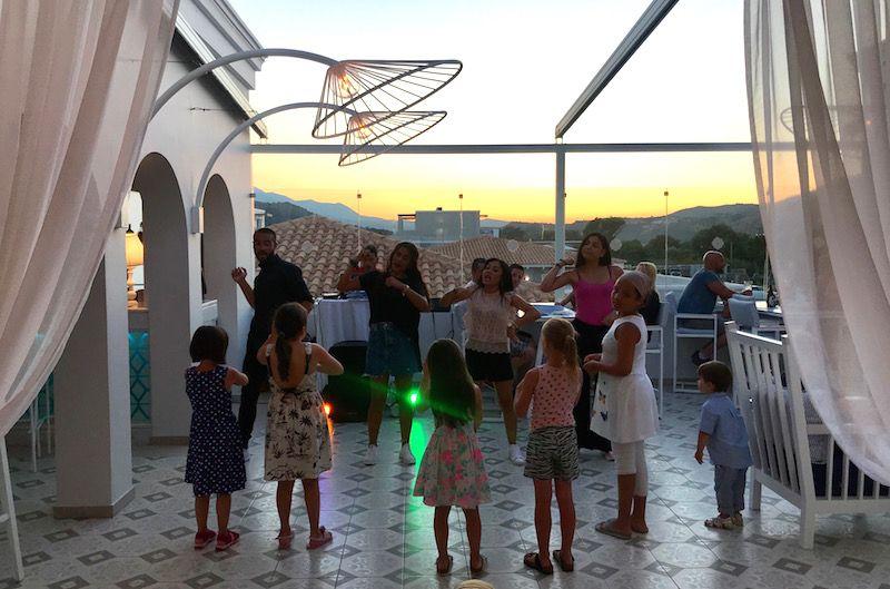 mini disco at anemos resort