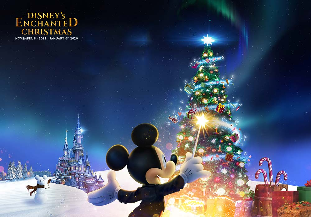 Disneyland Paris Christmas Text