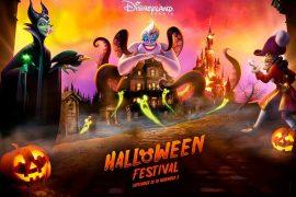 halloween festival at disneyland paris