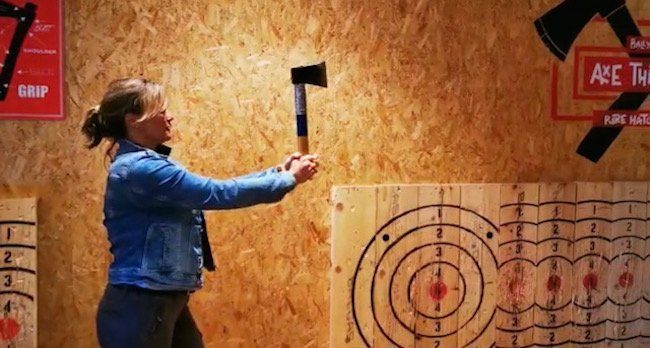 axe throwing munster