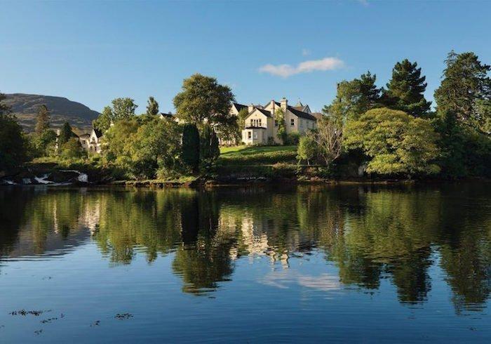 luxury hotels in Ireland - Sheen Falls Lodge