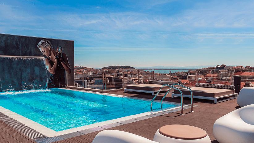 lisbon hotels - fenix music hotel