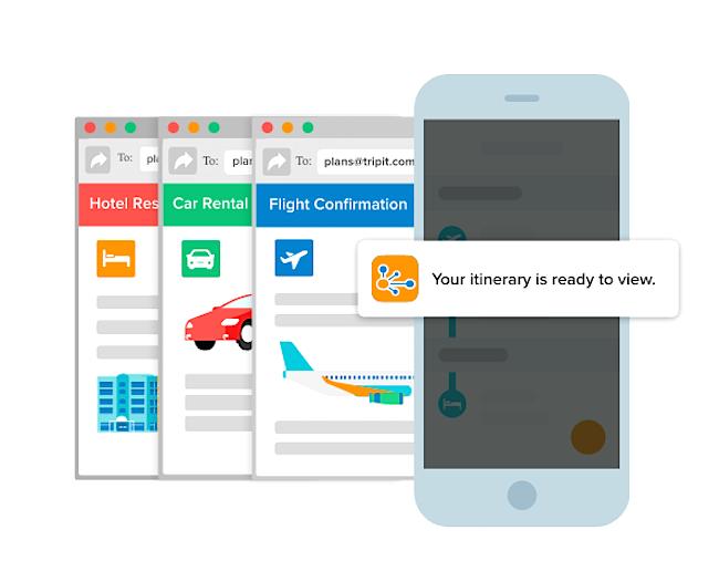 tripit travel app