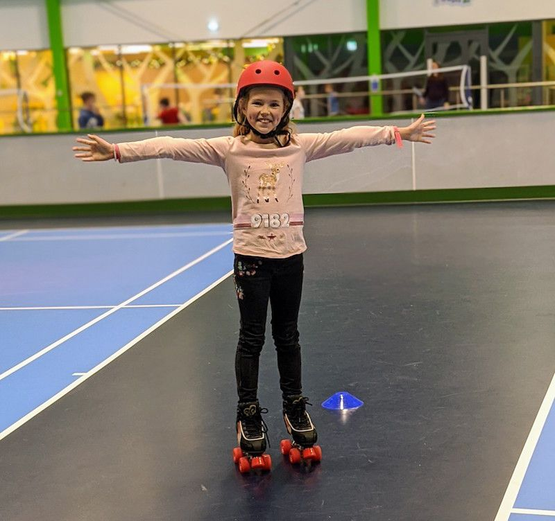 roller skating at center parcs longford forest