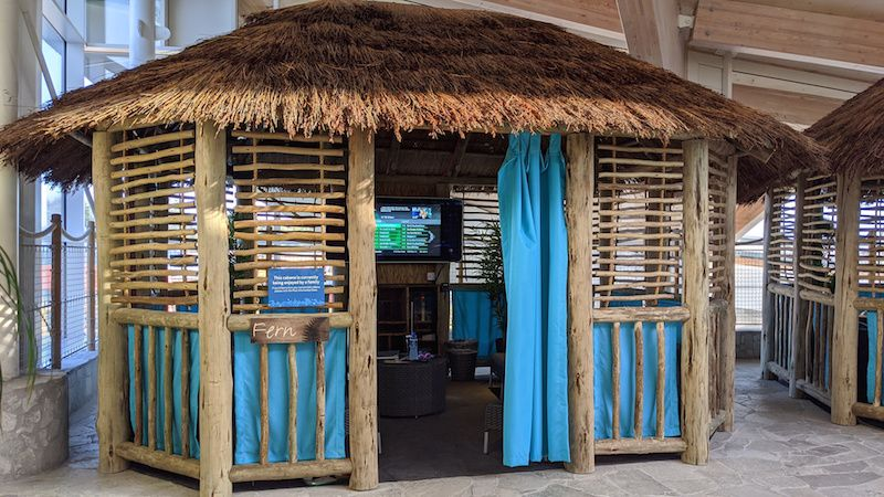 cabana at center parcs longford forest