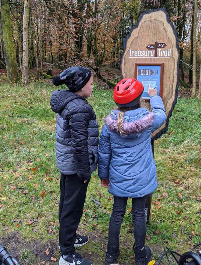 treasure trail at center parcs longford forest