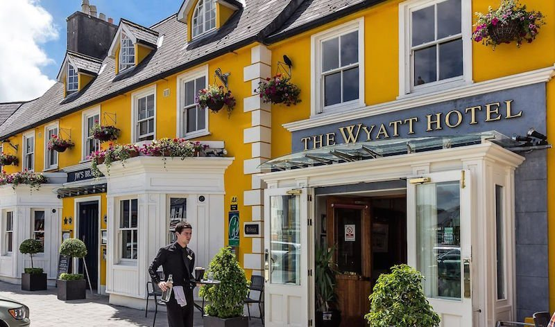 select hotels of ireland - wyatt hotel is pet friendly