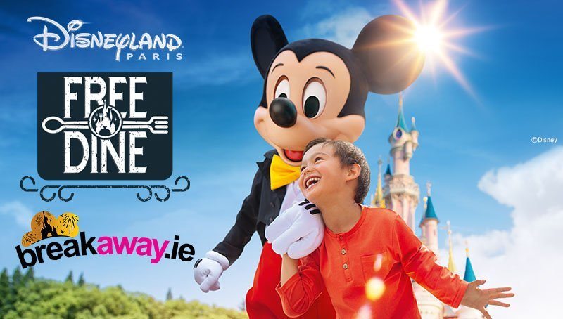free dining at disneyland paris