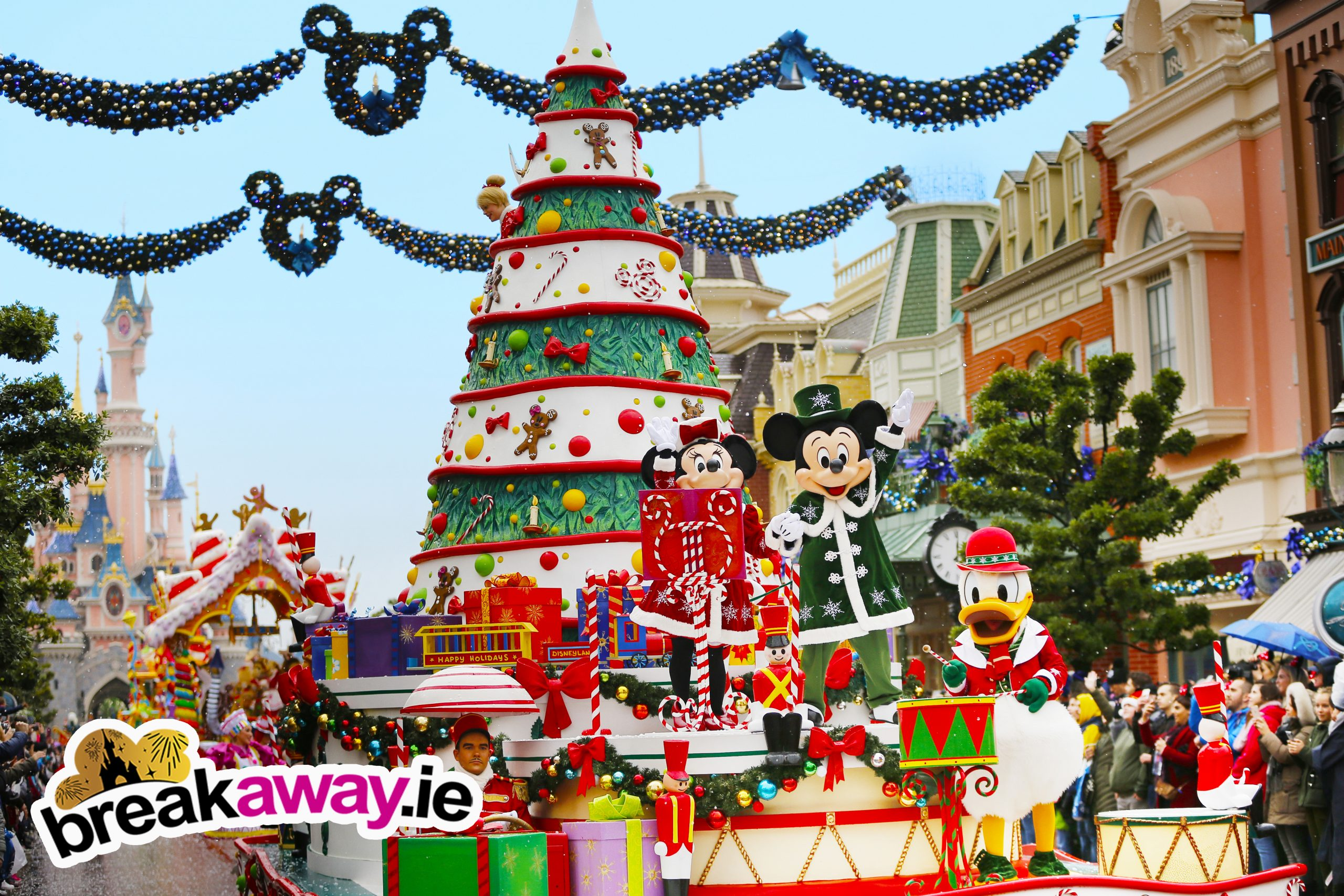 disneyland paris offer from ireland for chrismtas