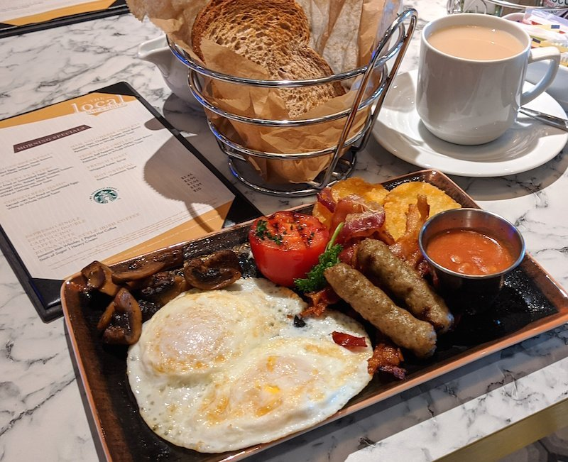breakfast on norwegian encore