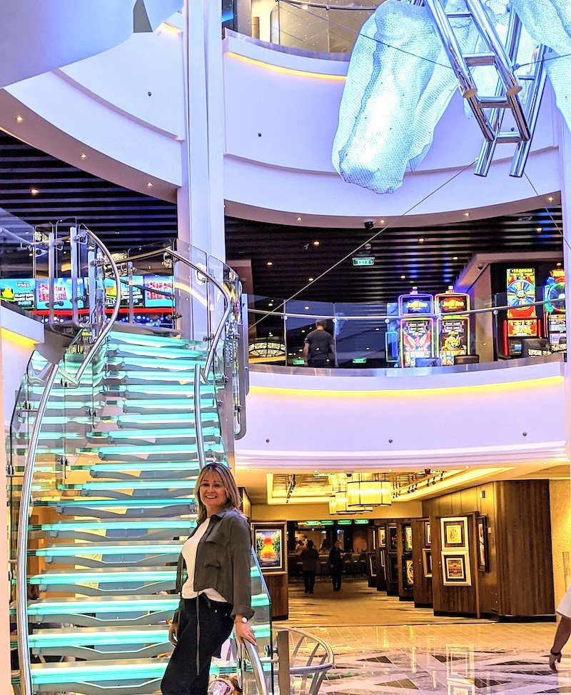 atrium on norwegian encore