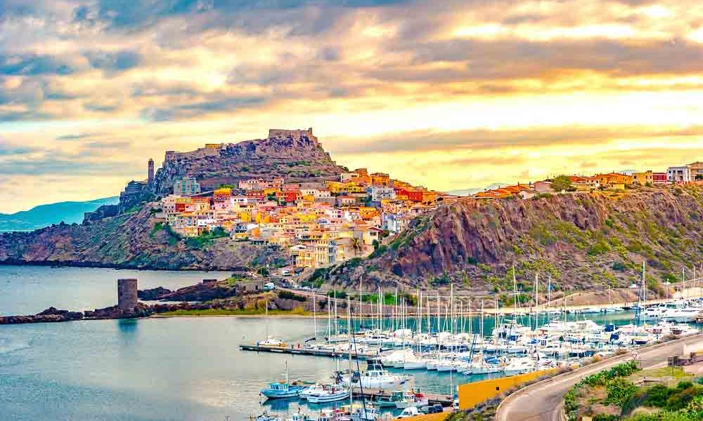 luxury short break in Sardinia