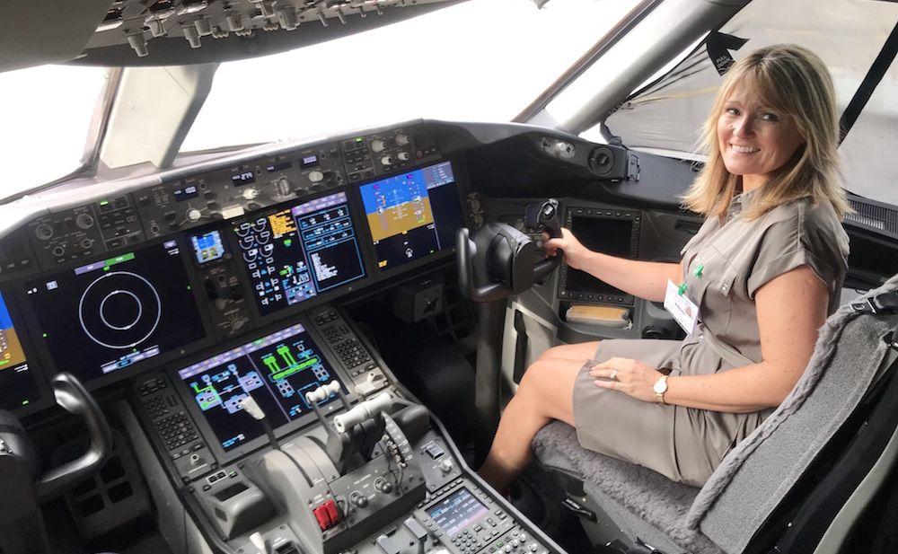 Sarah-in-cockpit-
