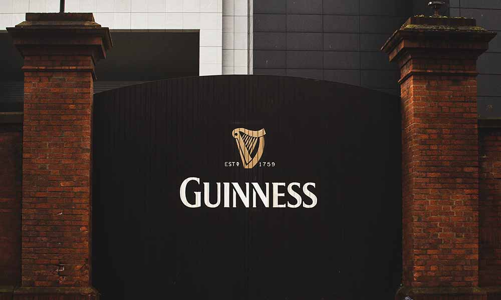 guinness store house is the top attraction if visiting ireland