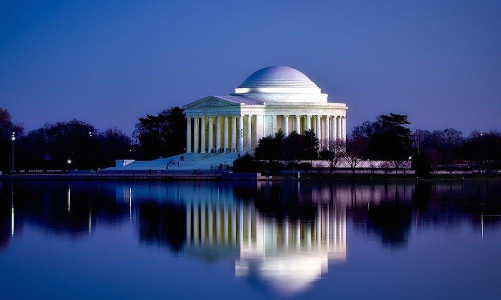 Washington break for New Year's Eve.
