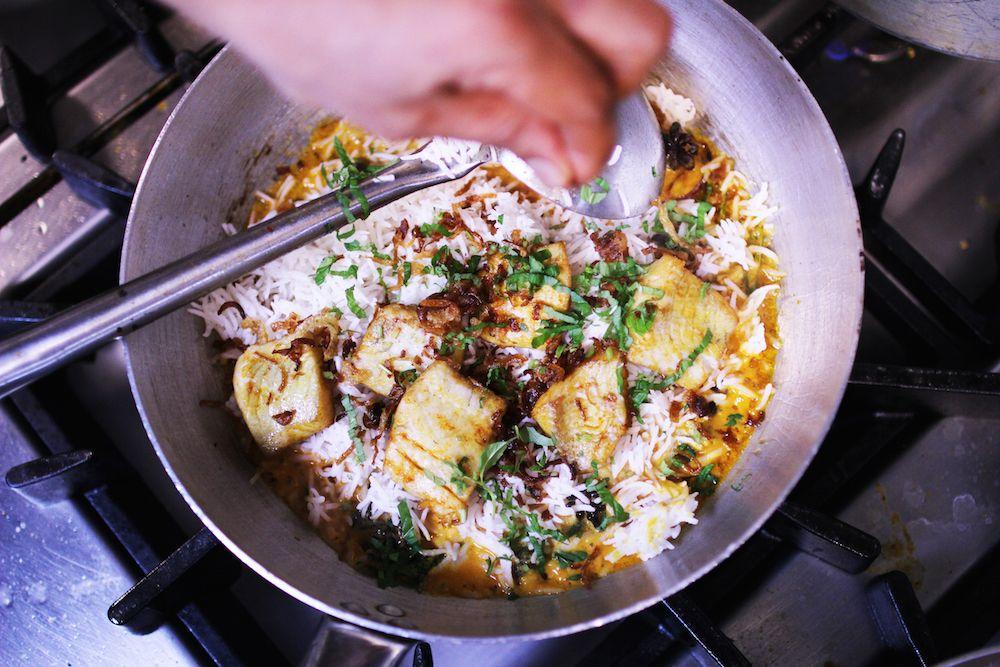 Chicken-biryani from India