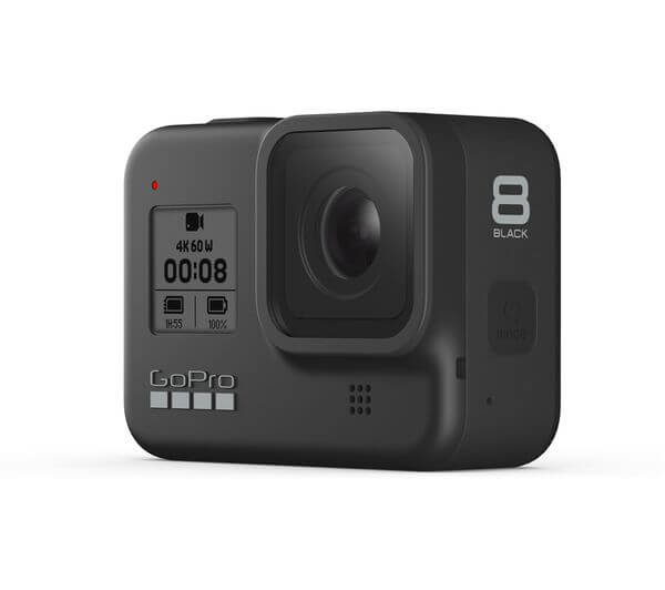 unique travel gifts - go pro hero 8