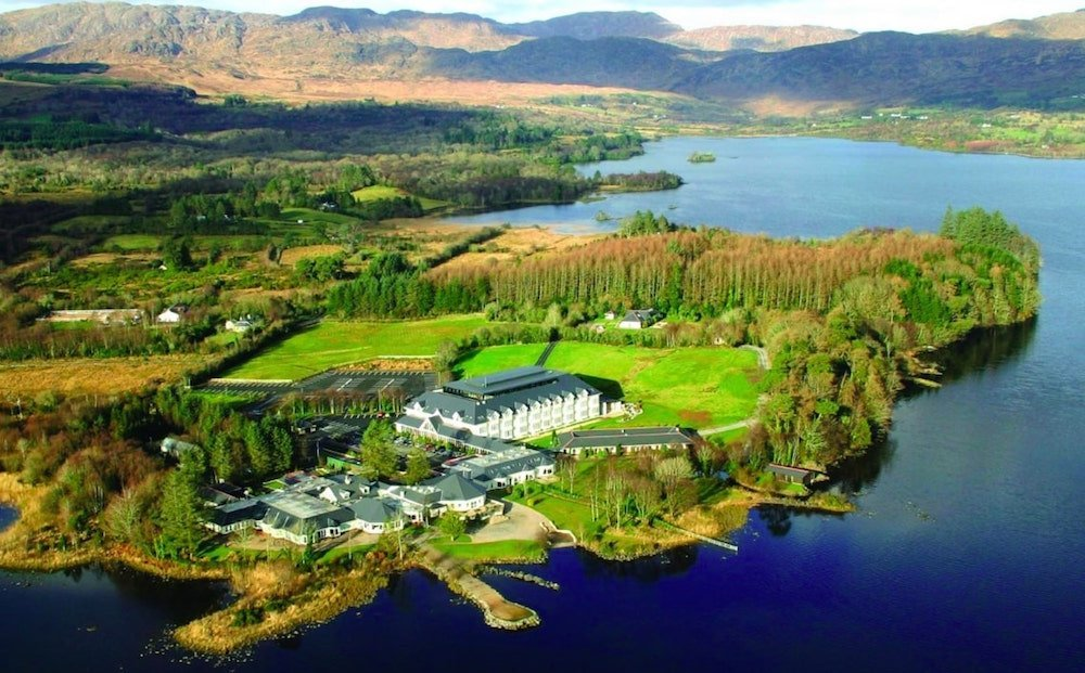 Harveys Point has been voted Ireland's best hotel.