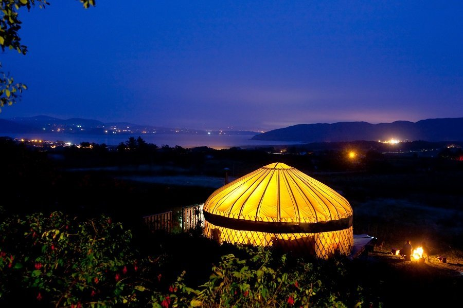 glamping in donegal ireland