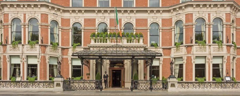 hotel deal for New Year's eve in the Shelbourne, Dublin