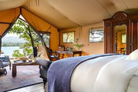 best places to go glamping in Ireland