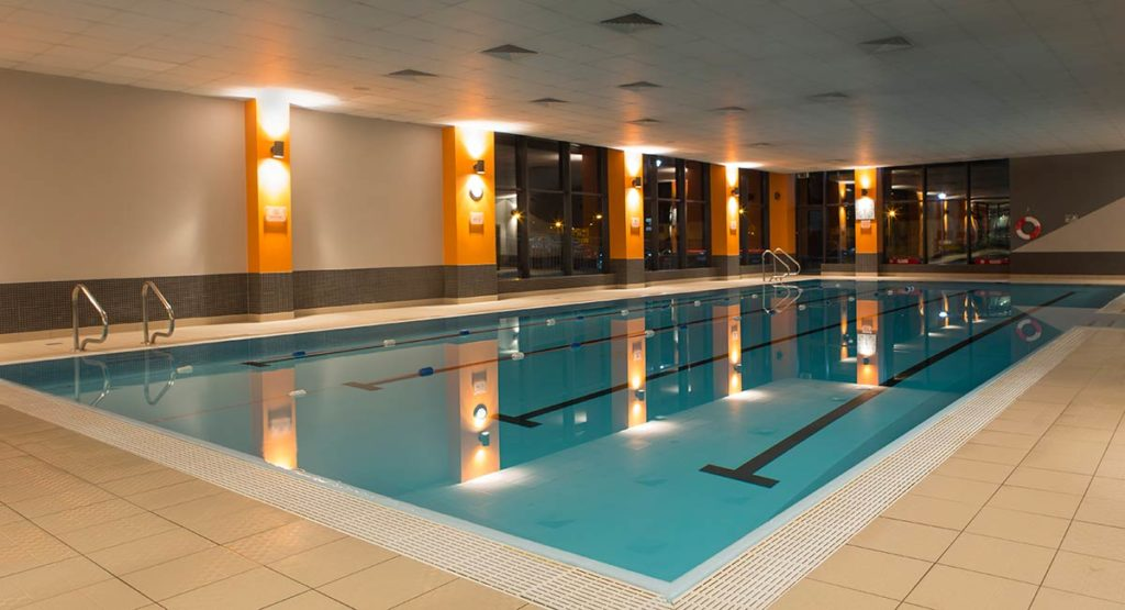 swimming pool at Claregalway hotel.