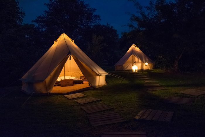 glamping holidays in ireland