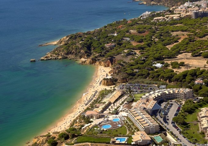 5-star hotels on the beach in the Algarve