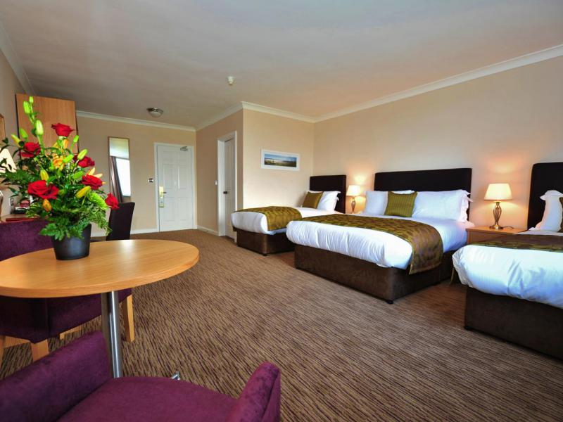 Large family rooms at The Inn at Dromoland Hotel.