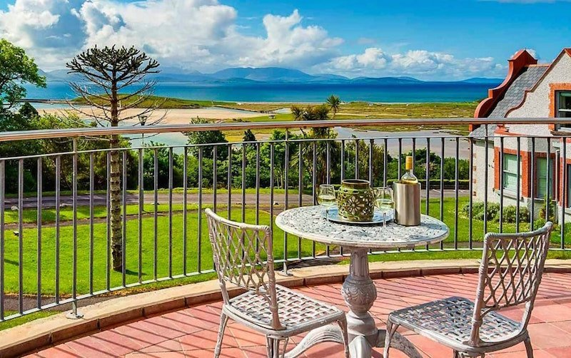 Mulranny Park Hotel Donegal is one of the best beach hotels to stay on the Wild Atlantic Way