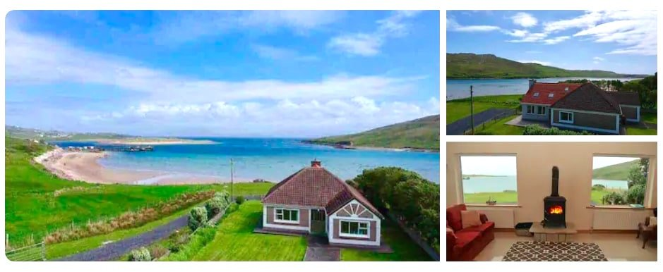 best Airbnb's in Ireland near the beach on Achill Island, the Wild Atlantic Way
