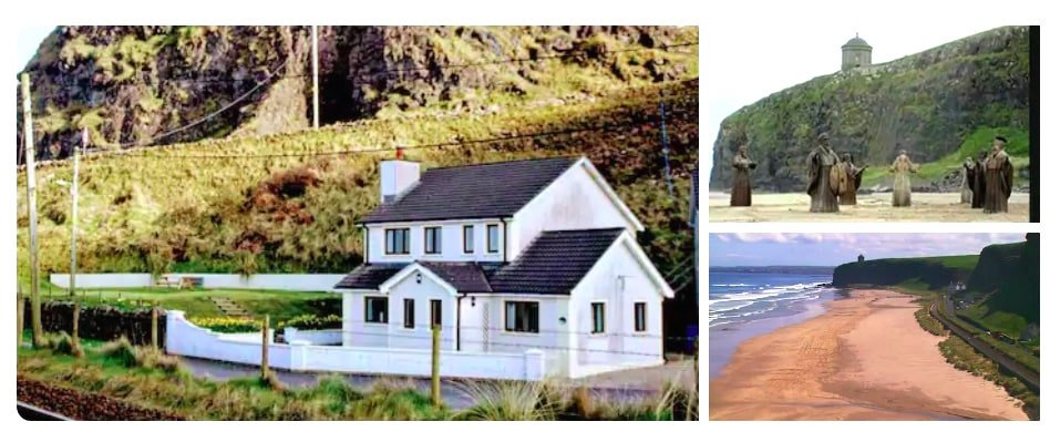 Sandybank cottage is a popular Airbnb with Game of Thrones fans.