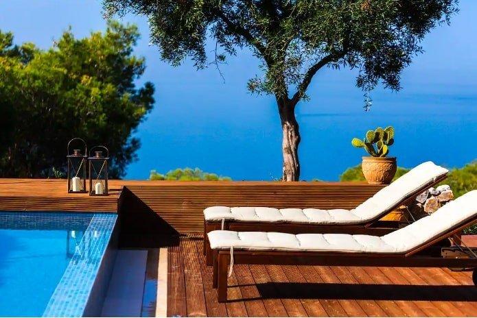 luxury airbnbs in europe - crete