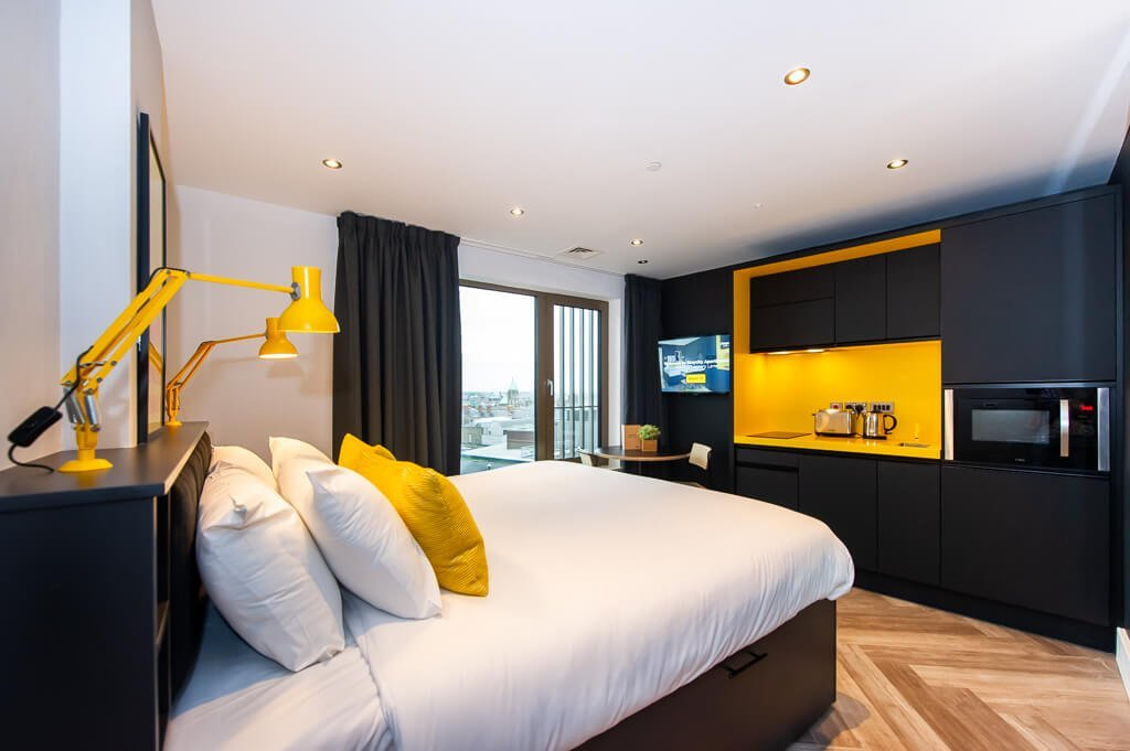 staycity aparthotel dublin is a great choice for self catering breaks in Ireland