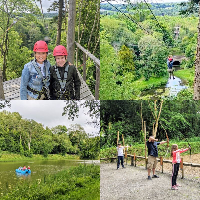 Castlecomer Discovery Park is one of the top things to do in Kilkenny with kids