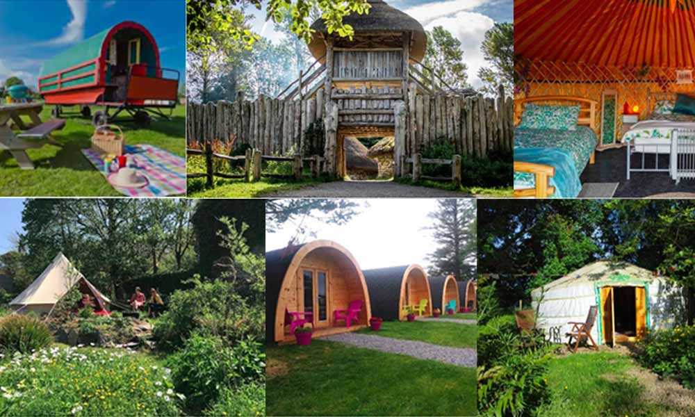 Top Aiirbnb glamping sites in Ireland