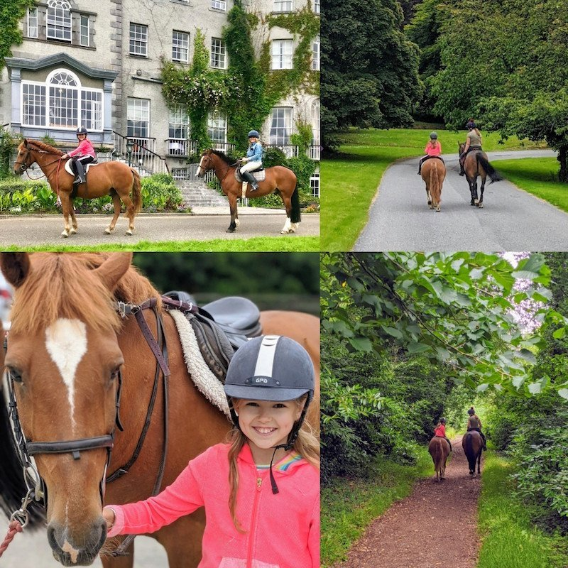 Horse riding with kids in Kilkenny