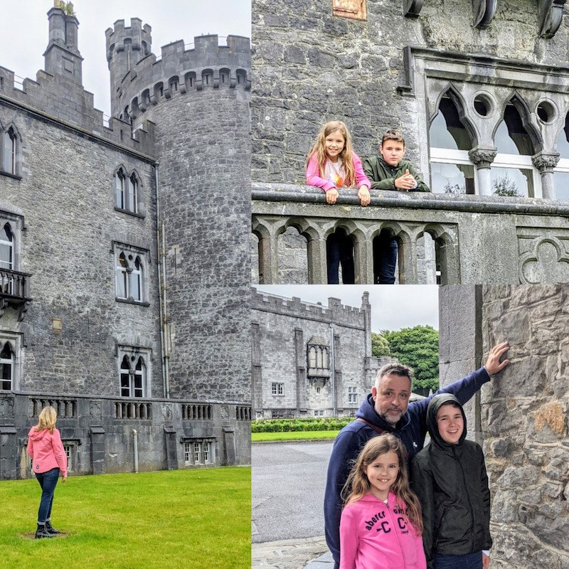 Visit Kilkenny Castle with kids