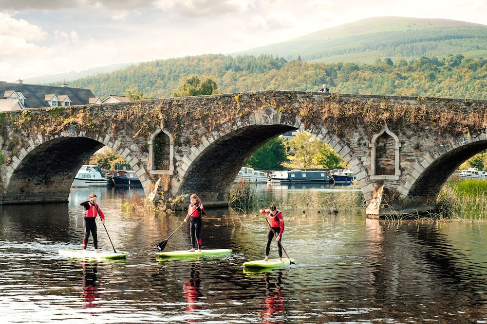 SUPing on the River Barrow, Kilkenny