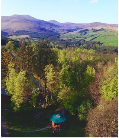 Airbnb Glamping Sites in the Galtee Mountains, Ireland
