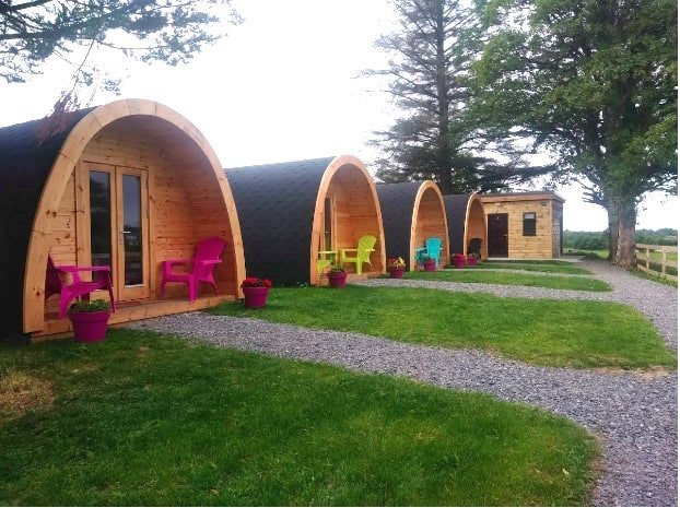 Airbnb Glamping Sites in Ireland for groups
