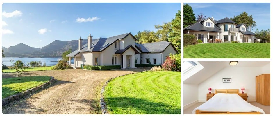 luxury airbnbs in Killarney for large families
