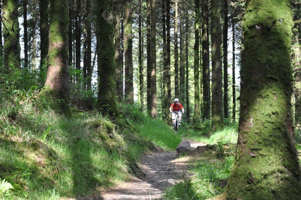mountain biking one of the adventure holidays in Ireland