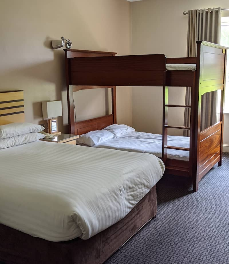breaffy house hotel family rooms