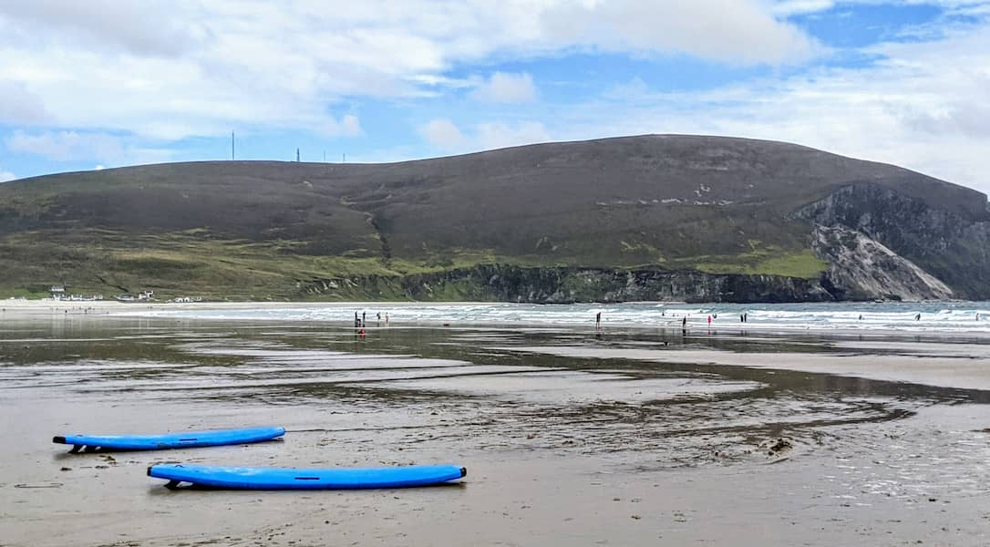 best beaches in Mayo