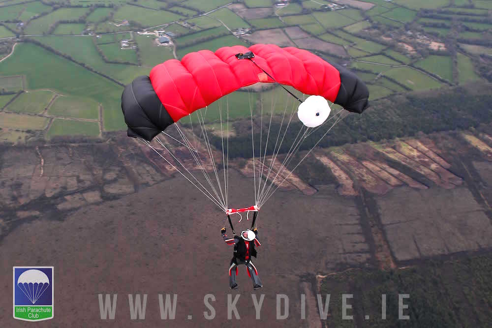 adventure holidays in Ireland - skydiving