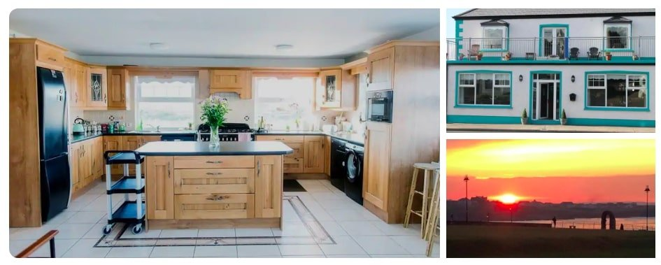 luxury airbnbs in Donegal for large families