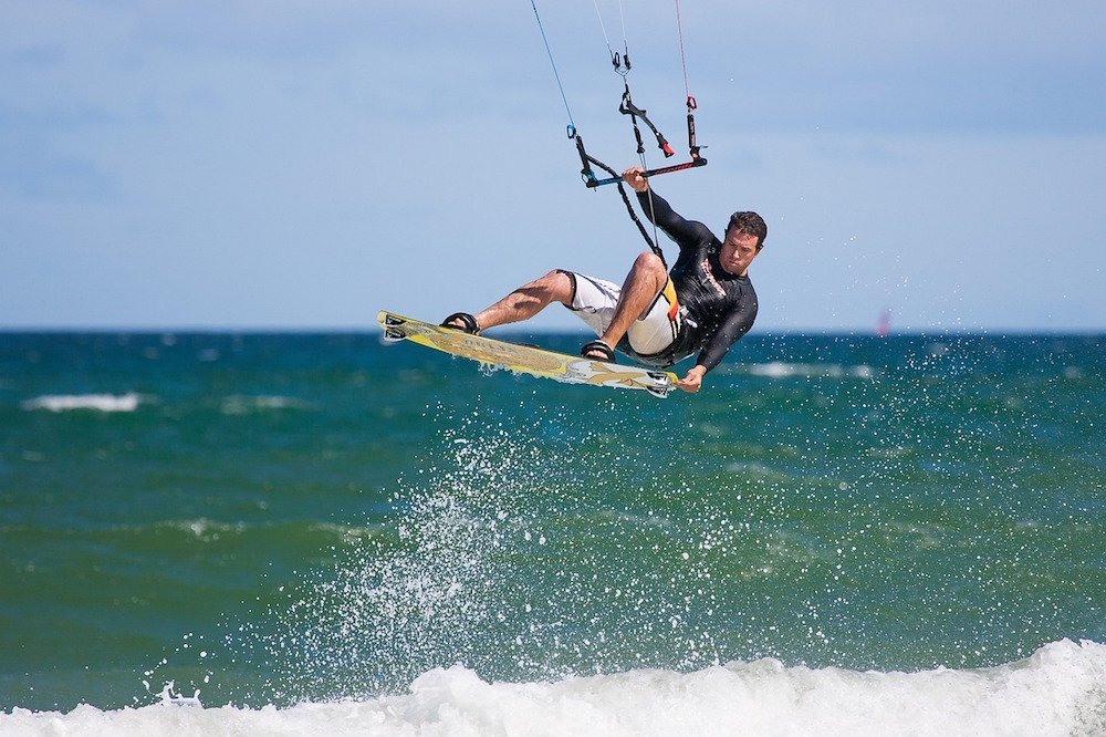 kite surfing - adventure holidays in Ireland