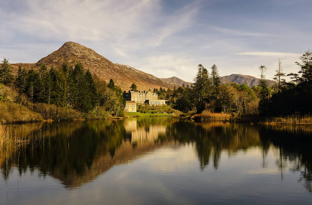 romantic break at Ballynahinch Castle
